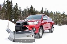 Отвал Hilltip Snow Striker V-Plow для Toyota Hilux