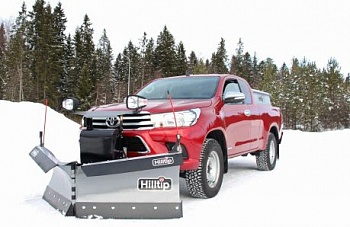 Отвал Hilltip Snow Striker V-Plow для Toyota Hilux для пикапов фото