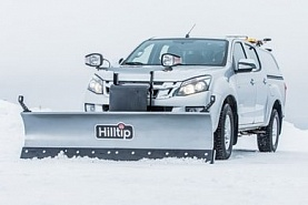 Отвал Hilltip Snow Striker Straight-blade для Volkswagen Amarok