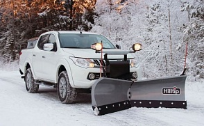 Отвал Hilltip Snow Striker V-Plow для Mitsubishi L200