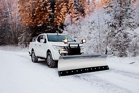 Отвал Hilltip Snow Striker Straight-blade для Mitsubishi L200