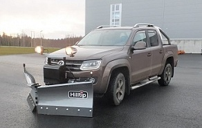 Отвал Hilltip Snow Striker V-Plow для Volkswagen Amarok